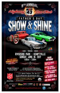 Father's Day Show and Shine @ Riverside Park | Kemptville | Ontario | Canada