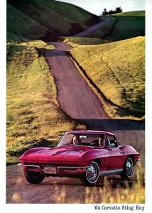 Corvette 1964 Brochure Coillection