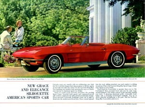 Corvette 1963 Brochure Coillection