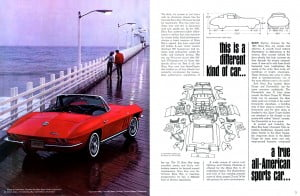 2 Corvette 1965 Brochure Collection