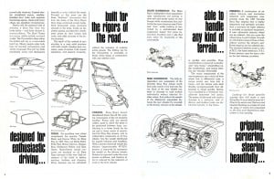 3 Corvette 1965 Brochure Collection