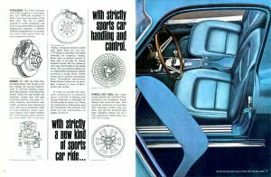 4 Corvette 1965 Brochure Collection