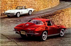 5 Corvette 1965 Brochure Collection