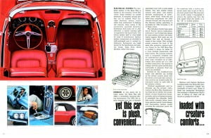 6 Corvette 1965 Brochure Collection