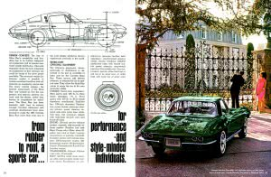 8 Corvette 1965 Brochure Collection