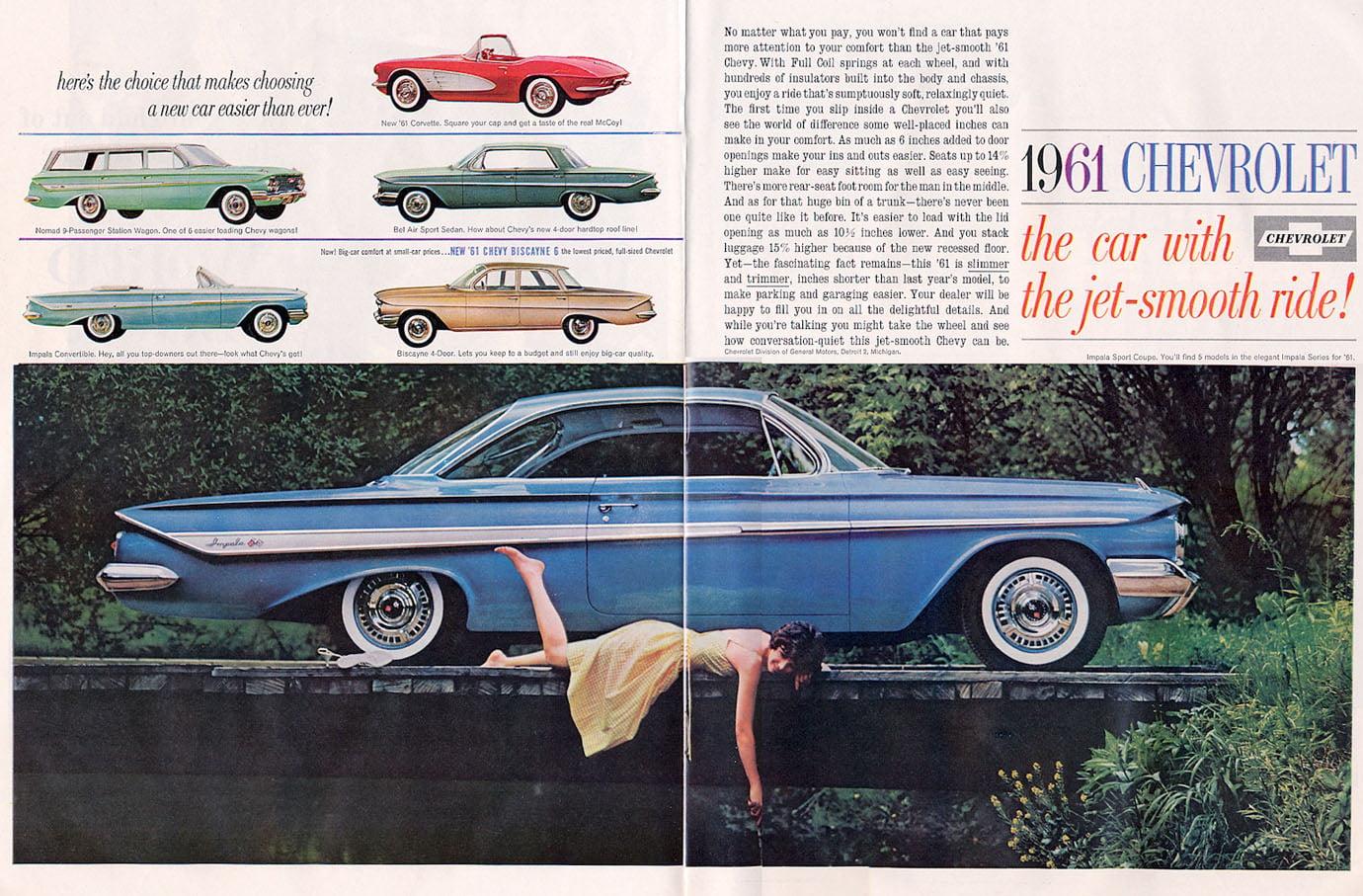 on 1958 Corvette