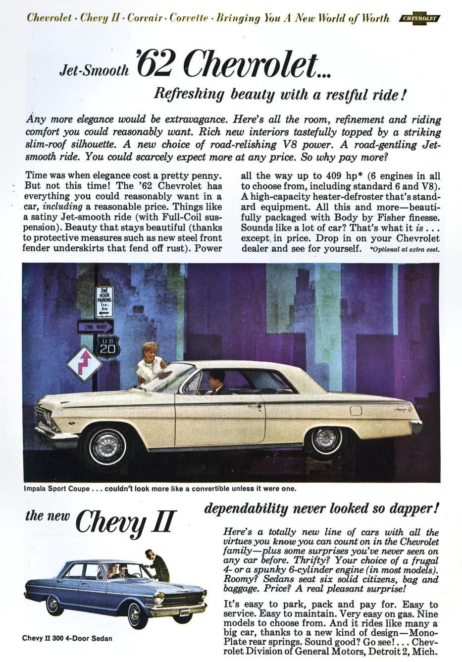 Publicits Anciennes Vintage Ads Chevrolet 1959 1963