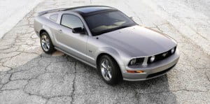 2009 Ford Glass Roof Mustang