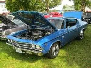 Chevrolet Chevelle 69 12 bb