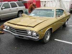 Chevrolet Chevelle 69 9 bb