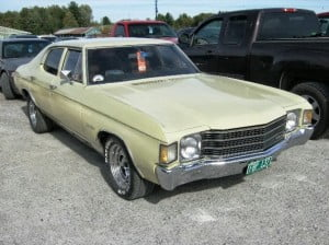 Chevrolet Chevelle 72 16 bb