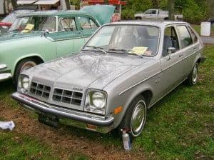Chevrolet Chevette 78 1 bb