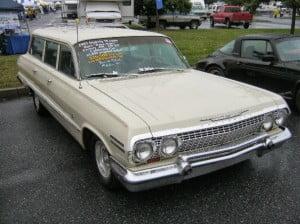 Chevrolet Impala 63 16 bb