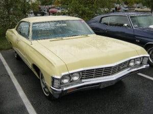 Chevrolet Impala 67 17 bb