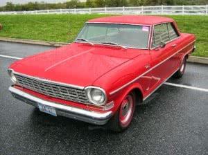 Chevrolet Nova 64 6 bb