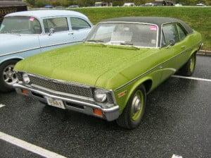 Chevrolet Nova 71 9 bb