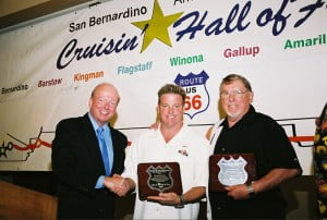 Dennis_Baxter_presenting_Cruisin_Hall_of_Fame_award_to_Chip_and_Sam_Foose