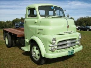 Dodge Truck 53 2 bb COE