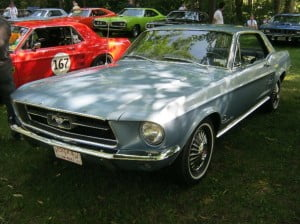 Ford Mustang 67 14 bb