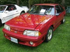 Ford Mustang 87 2 bb