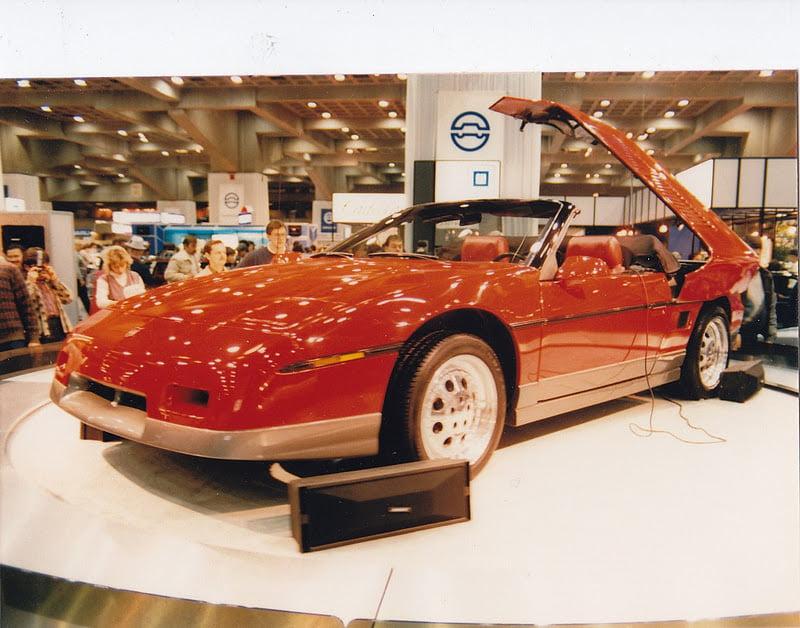 Salon de l 39 auto de montr al 1986 1991 - Salon de l auto de montreal ...