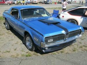 Mercury Cougar 68 5 bb
