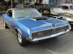 Mercury Cougar 69 5 bb