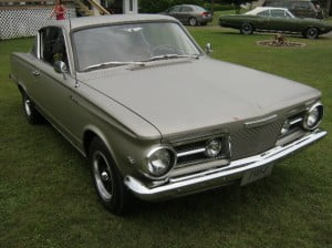Plymouth Barracuda 64 3 bb