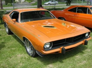 Plymouth Barracuda 73 6 bb