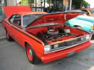 Plymouth Duster 70 6 bb