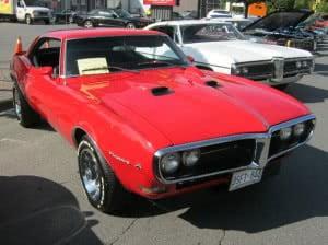 Pontiac Firebird 68 16 bb