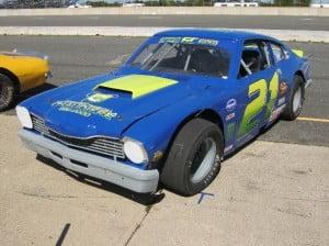 Stock car Ford Maverick 1 bb