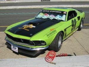 Stock car Ford Mustang 69 1 bb