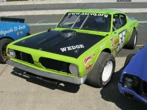 Stock car Plymouth Barracuda 67 1 bb