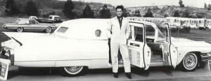 elvis 1960 limo