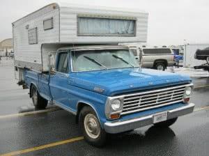 Camper Ford Truck 67 1 bb