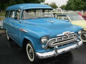 Chevrolet Truck 57 13 bb Suburban