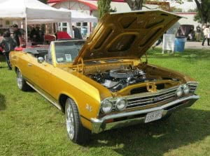 Chevrolet Chevelle 67 18 bb