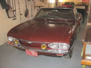 Chevrolet Corvair 66 6 bb