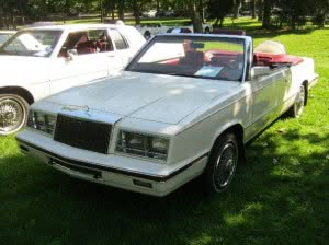 Chrysler LeBaron 84 1 bb