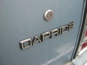 Chevrolet Caprice 87 n1 d3
