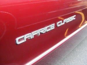 Chevrolet Caprice 91 n2 d3