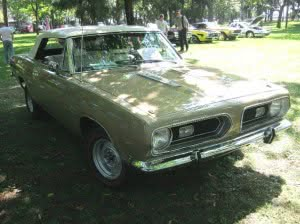 Plymouth Barracuda 68