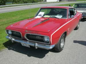 Plymouth Barracuda 68 Spoiler