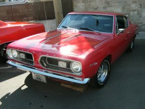 Plymouth Barracuda67-2