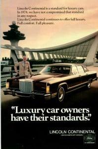 1978 Lincoln A