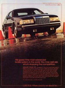 1986 Lincoln