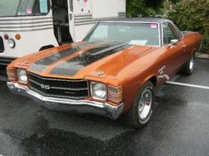 Chevrolet El Camino 71 9 bb
