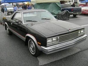 Chevrolet El Camino 83 3 bb