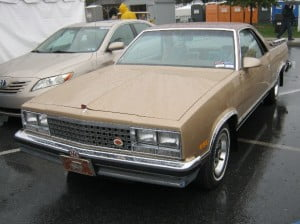 Chevrolet El Camino 86 4 bb
